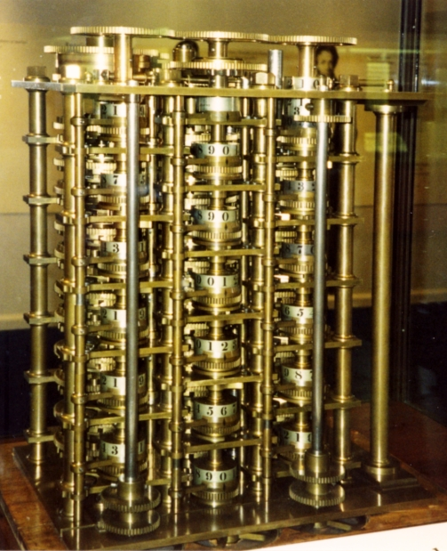 Difference Engine model