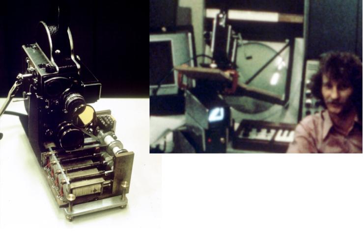 Bolex camera and Camera mount